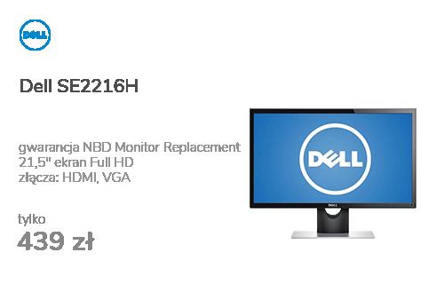 Dell SE2216H czarny