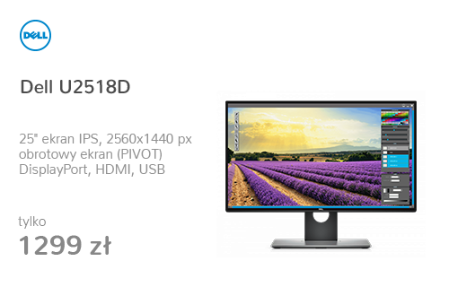 Dell U2518D (5ms, 8bit, HDR, HDMI 2.0)