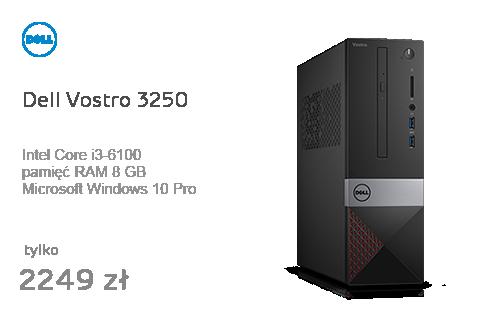 Dell Vostro 3250 i3-6100/8GB/500/10Pro
