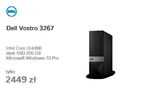 Dell Vostro 3267 i3-6100/8GB/256/10Pro