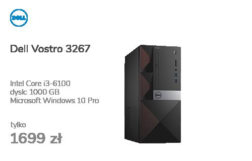 Dell Vostro 3267 i3-6100/4GB/1000/10Pro