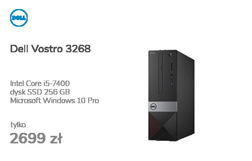 Dell Vostro 3268 i5-7400/8GB/256/10Pro