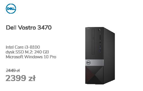 Dell Vostro 3470 i3-8100/8GB/240SSD/Win10Pro