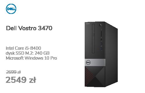 Dell Vostro 3470 i5-8400/8GB/240+1TB/Win10P