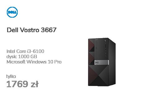 Dell Vostro 3667 i3-6100/4GB/1000/10Pro