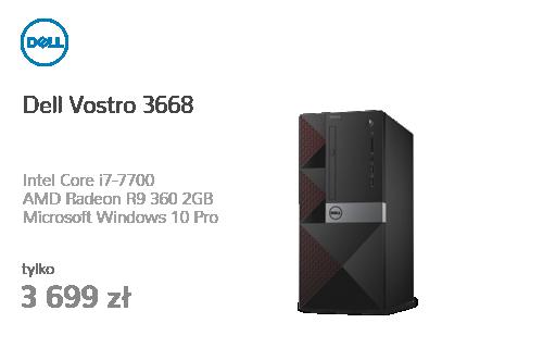 Dell Vostro 3668 i7-7700/8GB/1000/10Pro R9 360