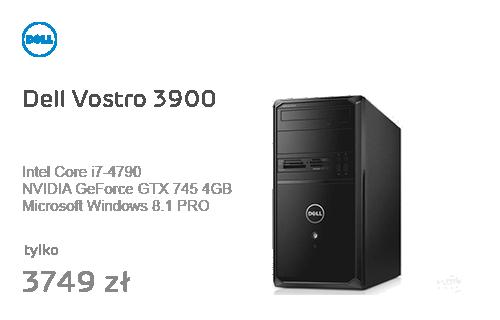 Dell Vostro 3900 i7-4790/16GB/240+1000/7Pro+8Pro GTX745