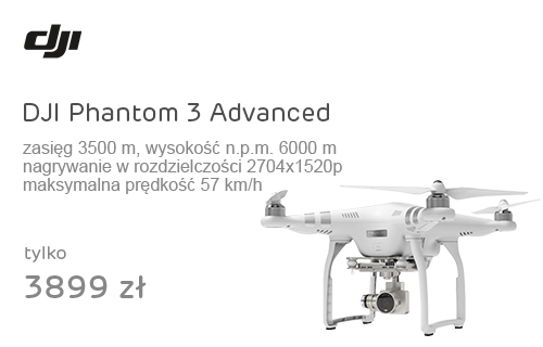DJI Phantom 3 Advanced biały