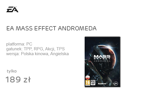 EA MASS EFFECT ANDROMEDA