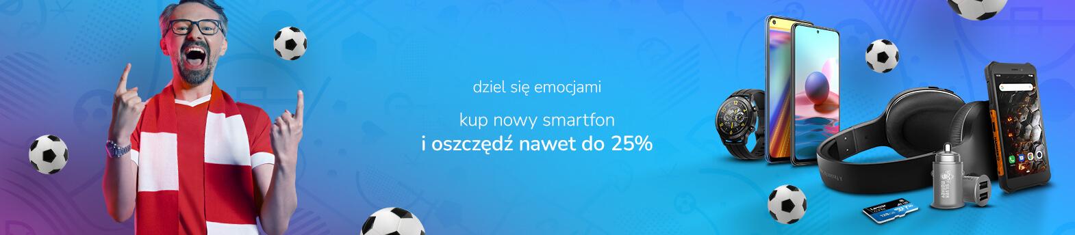 smartfony z rabatem do 25%