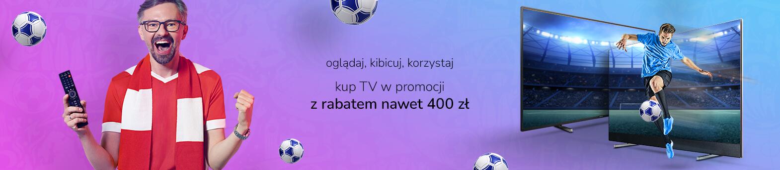 telewizory do 400 zł taniej
