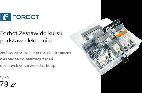 Forbot Zestaw do kursu podstaw elektroniki
