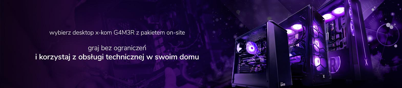 G4M3R z pakietem on-site