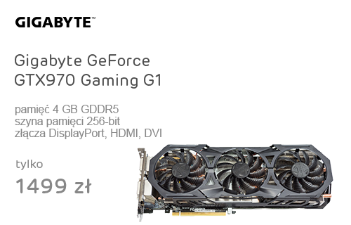 Gigabyte GeForce GTX970 Gaming G1