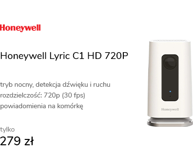 Honeywell Lyric C1 HD 720P LED IR (dzień/noc)