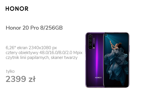Honor 20 Pro 8/256GB Phantom Purple