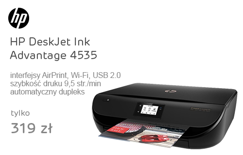 HP DeskJet Ink Advantage 4535 (kabel USB gratis)