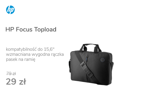 "HP Focus Topload 15,6"""