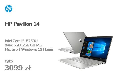 HP Pavilion 14 i5-8250U/8GB/256PCIe/W10/IPS Silver