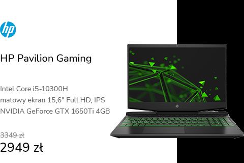 HP Pavilion Gaming i5-10300/16GB/512 GTX1650Ti