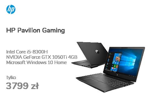 HP Pavilion Gaming i5-8300H/8G/256PCIe/W10 1050Ti