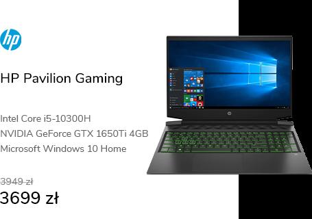 HP Pavilion Gaming i5/16GB/512/Win10X GTX1650Ti 14