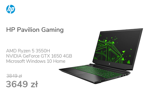 HP Pavilion Gaming R5-3550H/8GB/512/Win10x 144Hz