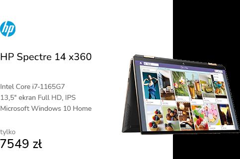 HP Spectre 14 x360 i7-1165G7/16GB/1TB/Win10 Silver