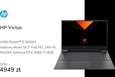 HP Victus Ryzen 5-5600H/16GB/512/W10x RTX3050Ti 14