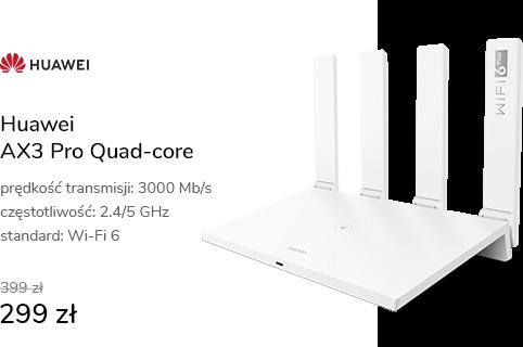 Huawei AX3 Pro Quad-core (3000Mb/s a/b/g/n/ac/ax)