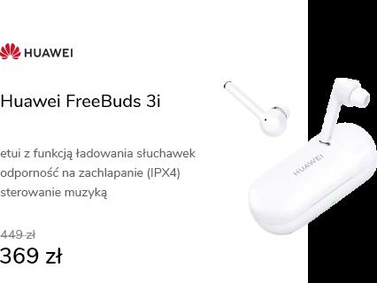 Huawei FreeBuds 3i białe