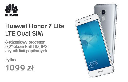 Huawei Honor 7 Lite LTE Dual SIM srebrny