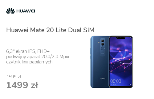 Huawei Mate 20 Lite Dual SIM niebieski