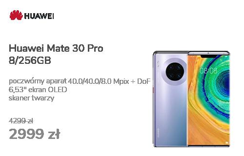 Huawei Mate 30 Pro 8/256GB srebrny