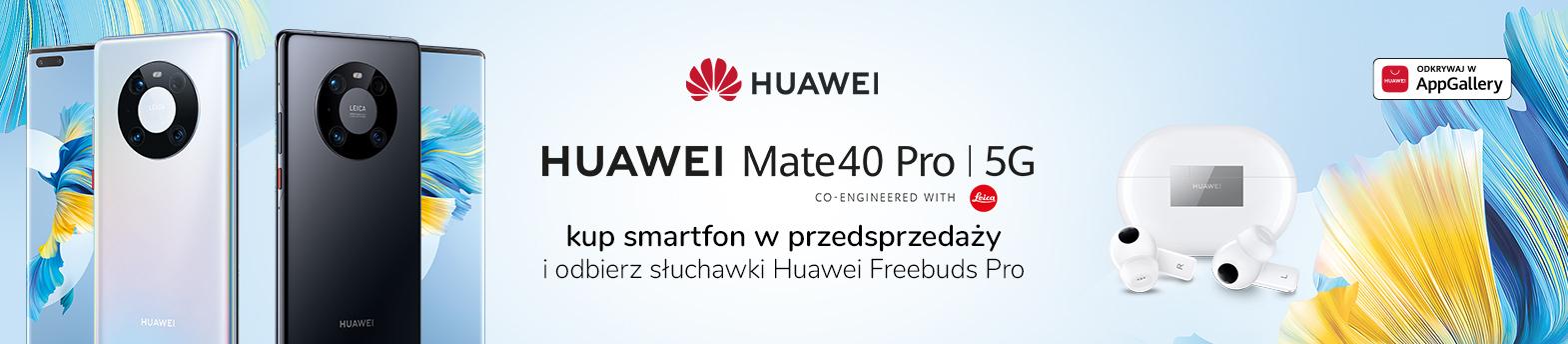 Huawei Mate40 Pro przedsprzedaż