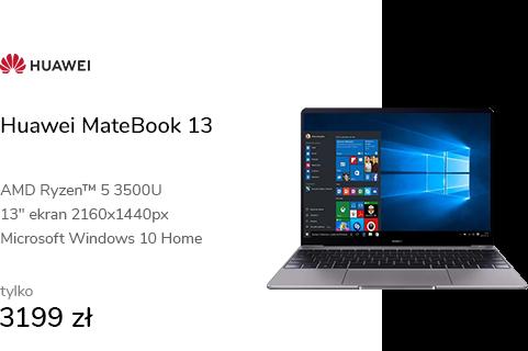 Huawei MateBook 13 R5-3500/8G/512/Win10
