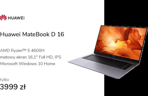 Huawei MateBook D 16 R5-4600H/16GB/512/Win10