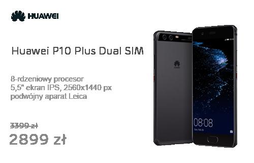 Huawei P10 Plus Dual SIM czarny