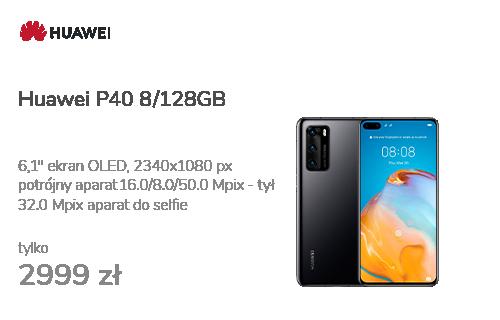 Huawei P40 8/128GB czarny