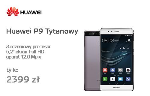 Huawei P9 Tytanowy + Karta 128GB