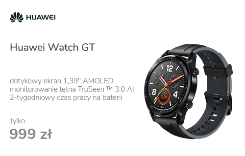 Huawei Watch GT czarny