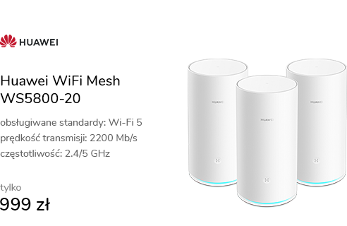 Huawei WiFi Mesh WS5800-20 (2200Mb/s a/b/g/n/ac) 3