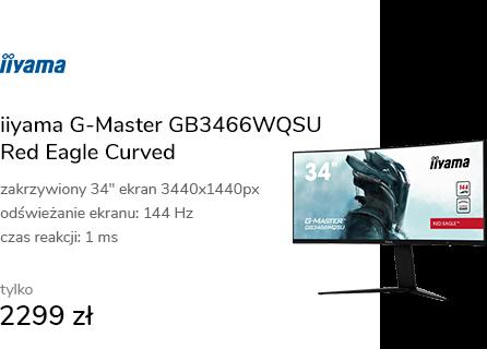 iiyama G-Master GB3466WQSU Red Eagle Curved HDR