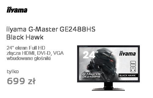 iiyama G-Master GE2488HS Black Hawk