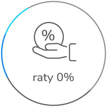 w prawdziwych ratach 0%
