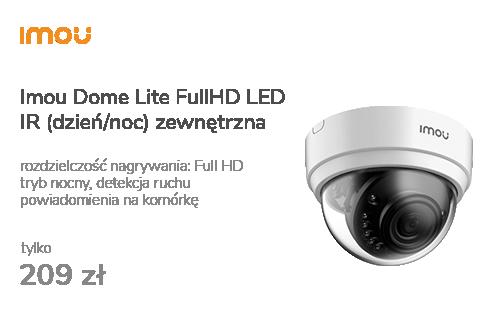 Imou Dome Lite FullHD LED IR (dzień/noc) zewnętrzna