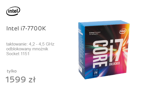 Intel i7-7700K 4.20GHz 8MB BOX