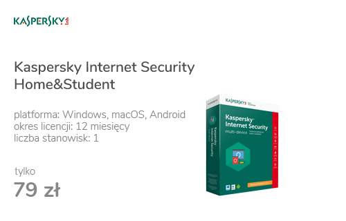 Kaspersky Internet Security Home&Student 1st. (12m.)