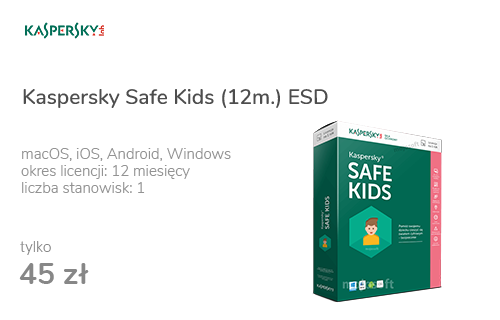 Kaspersky Safe Kids (12m.) ESD