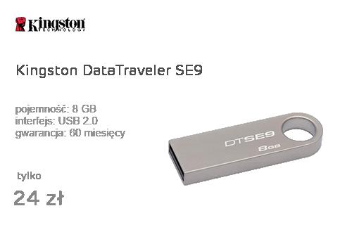 Kingston 8GB DataTraveler SE9